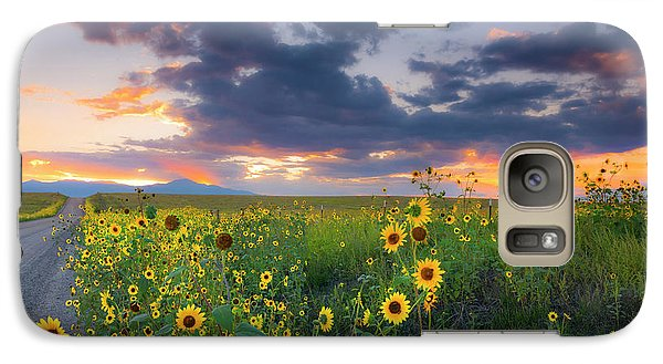 Galaxy Case featuring the photograph In The Evening Light by Tim Reaves