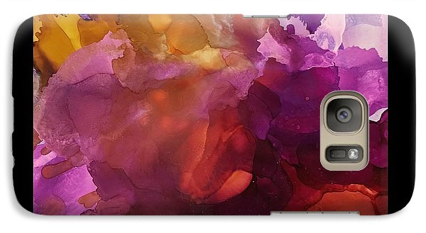 Galaxy Case featuring the painting In The Flow by Suzanne Canner