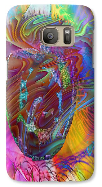 Galaxy Case featuring the mixed media In The Light by Kevin Caudill