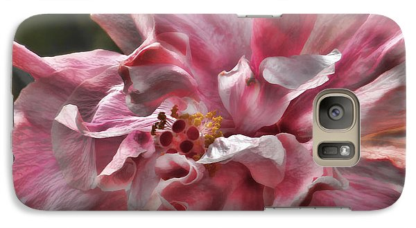 Galaxy Case featuring the photograph In The Pink by HH Photography of Florida