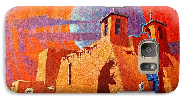 Galaxy Case featuring the painting In The Shadow Of St. Francis by Art West