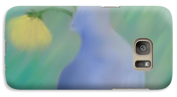 Galaxy Case featuring the painting In The Still Of The Light by Kevin Caudill