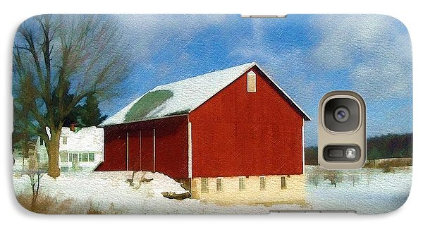 Galaxy Case featuring the photograph In The Throes Of Winter by Sandy MacGowan