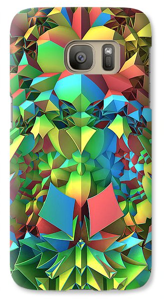 Galaxy Case featuring the digital art In The Tropics by Lyle Hatch