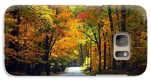Galaxy Case featuring the photograph In The Woods by Denise Moore