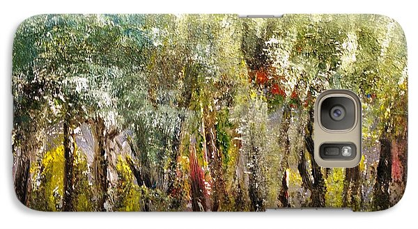 Galaxy Case featuring the painting In The Woods by Evelina Popilian