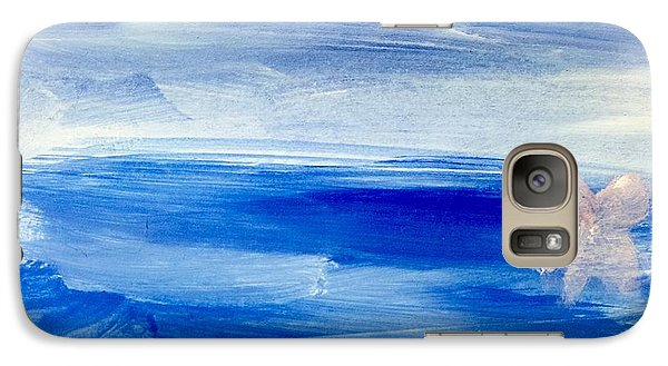 Galaxy Case featuring the painting In This Sea Of Life by Trilby Cole