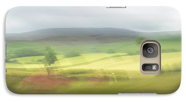 Galaxy Case featuring the photograph In Yorkshire 1 by Dubi Roman