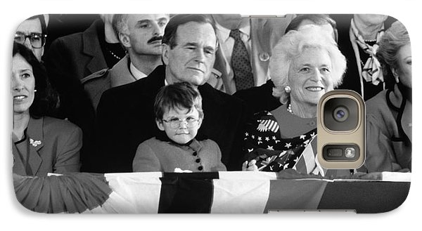 Inauguration Of George Bush Sr Galaxy Case by H. Armstrong Roberts/ClassicStock