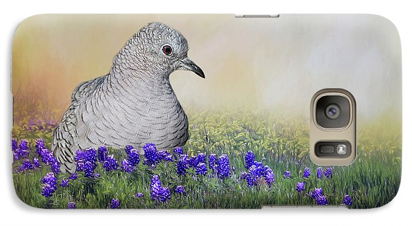 Galaxy Case featuring the photograph Inca Dove  by Bonnie Barry