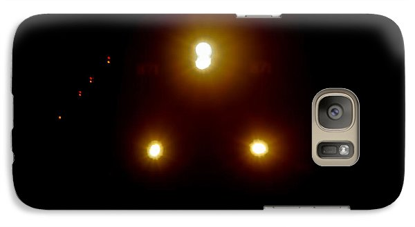 Galaxy Case featuring the photograph Incoming Train by Mariola Bitner