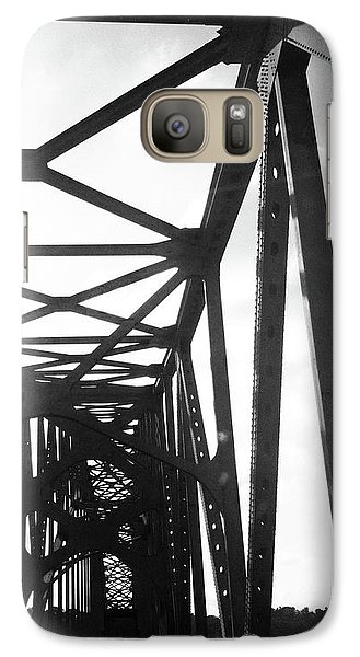 Galaxy Case featuring the photograph Indefinite Sight Bw by Jamie Lynn