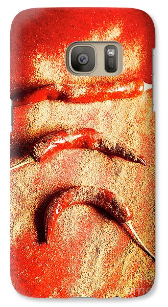 Turkey Galaxy S7 Case - Indian Food Seasoning And Spices by Jorgo Photography - Wall Art Gallery