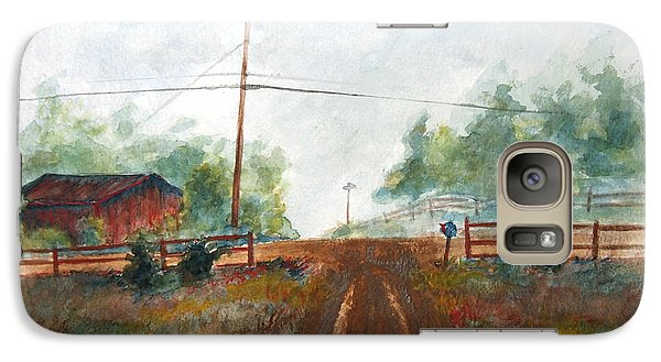 Galaxy Case featuring the painting Indian Hills by Andrew Gillette