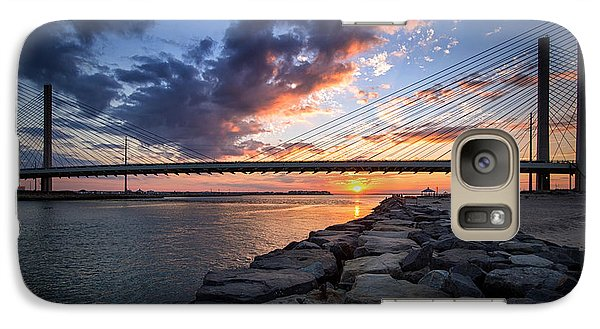 Indian River Inlet And Bay Sunset Galaxy S7 Case