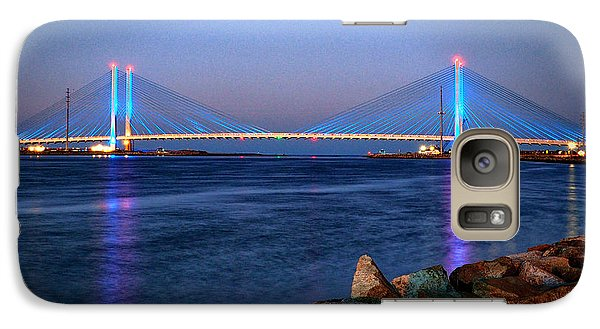 Indian River Inlet Bridge Twilight Galaxy S7 Case