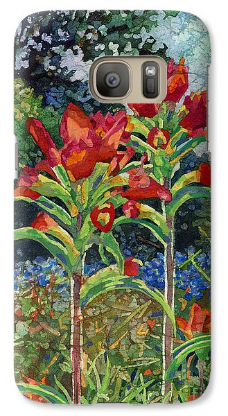 Galaxy Case featuring the painting Indian Spring by Hailey E Herrera