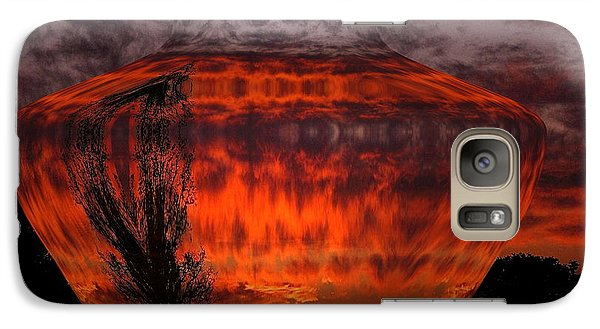 Galaxy Case featuring the photograph Indian Summer Sunrise by Joyce Dickens