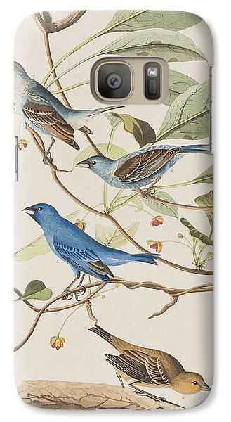 Indigo Bird Galaxy S7 Case by John James Audubon