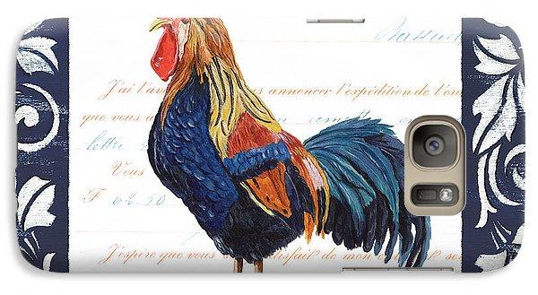 Indigo Rooster 2 Galaxy S7 Case by Debbie DeWitt