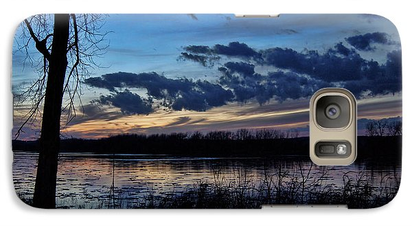 Galaxy Case featuring the photograph Indigo Skies by Cricket Hackmann