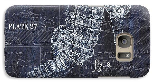 Indigo Verde Mar 1 Galaxy S7 Case