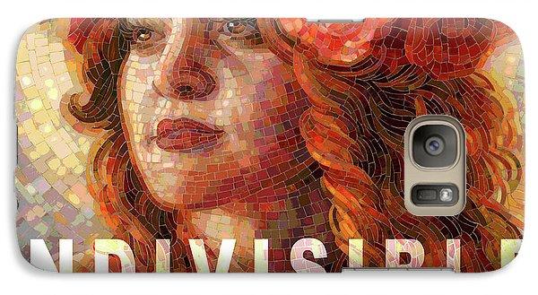 Galaxy Case featuring the glass art Indivisible by Mia Tavonatti