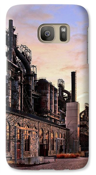 Galaxy Case featuring the photograph Industrial Landmark by DJ Florek