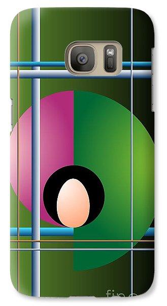 Galaxy Case featuring the digital art Industrial Revolution by Leo Symon