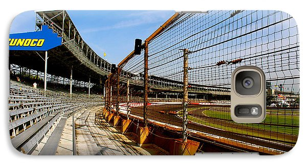 Galaxy Case featuring the photograph Indy  Indianapolis Motor Speedway by Iconic Images Art Gallery David Pucciarelli