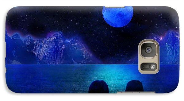 Galaxy Case featuring the photograph Infinite Dreams by Bernd Hau