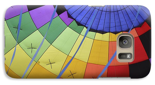 Galaxy Case featuring the photograph Inflation Time by Linda Geiger