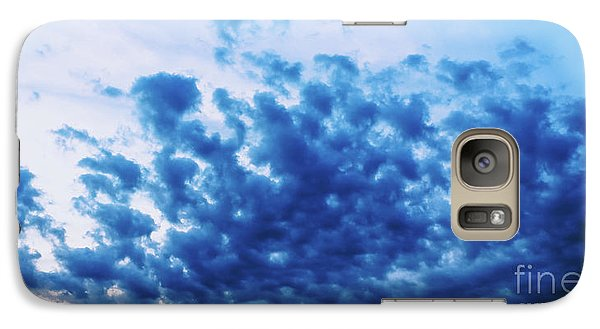 Galaxy Case featuring the photograph Ink Blot Sky by Colleen Kammerer