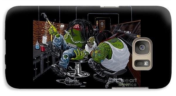 Martini Galaxy S7 Case - Ink Slinger by Michael Godard