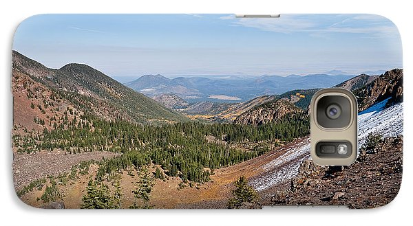 Galaxy Case featuring the photograph Inner Basin From Humphreys Saddle by Jeff Goulden
