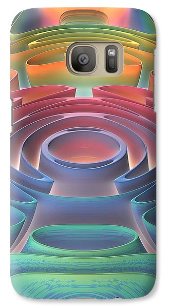 Galaxy Case featuring the digital art Inner Sanctum by Lyle Hatch