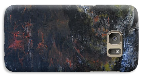 Galaxy Case featuring the painting Innocence Lost by Christophe Ennis