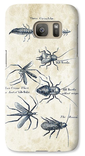 Insects - 1792 - 10 Galaxy S7 Case by Aged Pixel