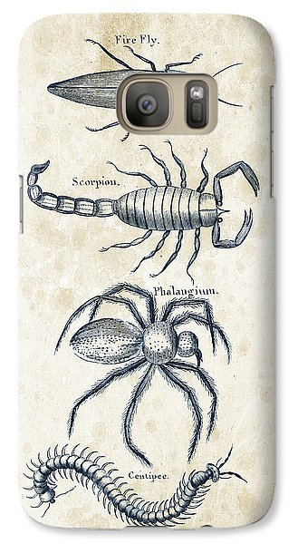 Insects - 1792 - 19 Galaxy S7 Case by Aged Pixel