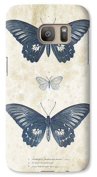Insects - 1832 - 01 Galaxy S7 Case by Aged Pixel
