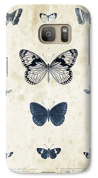 Insects - 1832 - 03 Galaxy S7 Case by Aged Pixel