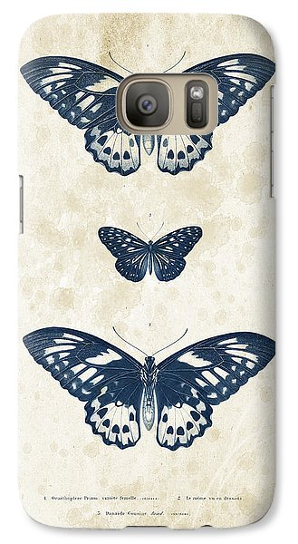 Insects - 1832 - 04 Galaxy S7 Case by Aged Pixel
