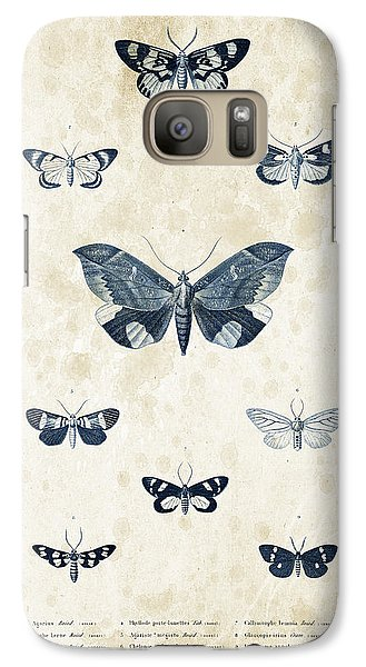 Insects - 1832 - 05 Galaxy S7 Case by Aged Pixel