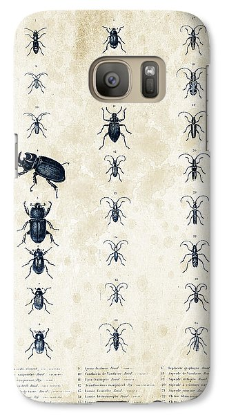 Insects - 1832 - 09 Galaxy S7 Case by Aged Pixel