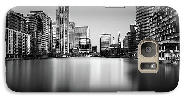 Inside Canary Wharf Galaxy S7 Case by Ivo Kerssemakers