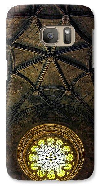 Galaxy Case featuring the photograph Inside Jeronimos by Carlos Caetano
