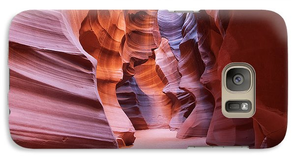 Galaxy Case featuring the photograph Inside The Canyon by Bob and Nancy Kendrick