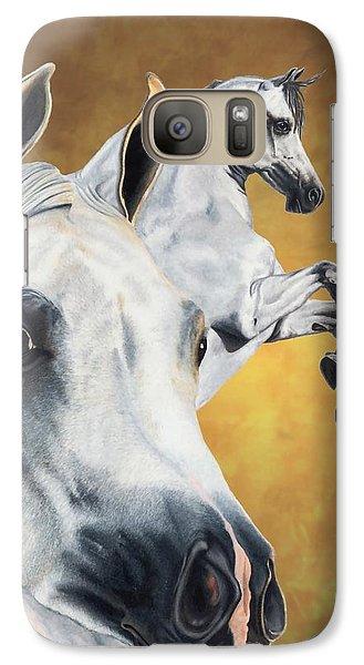 Horse Galaxy S7 Case - Inspiration by Kristen Wesch