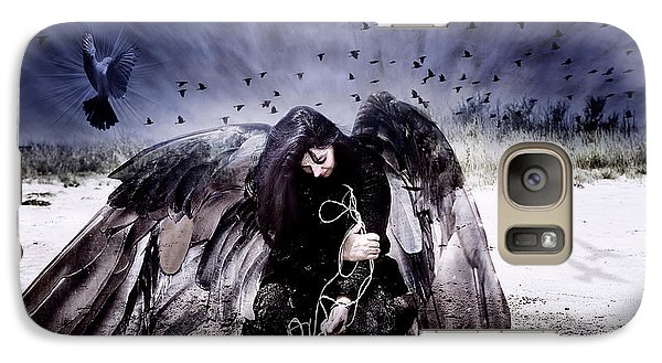 Galaxy Case featuring the photograph Intercede by Yvonne Emerson AKA RavenSoul