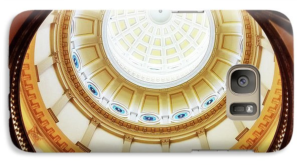 Galaxy Case featuring the photograph Interior Denver Capitol by Marilyn Hunt